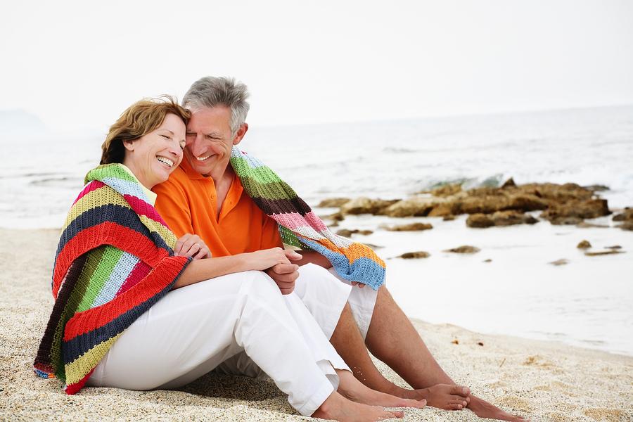 Mature couple do backdoor